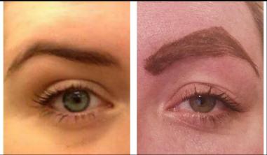 Eyebrow twins!